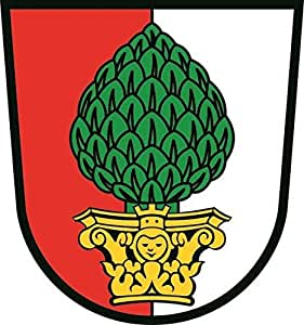 U24 Aufkleber Augsburg Wappen Autoaufkleber Sticker Konturschnitt: Amazon.de: Auto