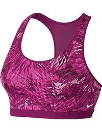 7ff1390a16516 Women s Nike Pro Fierce Sports Bra Medium Support True Berry White 832102  665 (s)