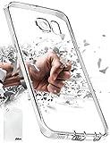 Taken Galaxy S6 Hülle,Freie Silikon TPU Transparent mit Anti-Staub-Stecker Kameraschutzentwurf für Samsung Galaxy S6 (Clear)