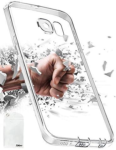 Taken Galaxy S6 Hülle,Freie Silikon TPU Transparent mit Anti-Staub-Stecker Kameraschutzentwurf für Samsung Galaxy S6
