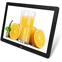 Digitaler Rahmen 17In Großer Ips-Bildschirm Bild 1440X900 Hohe Auflösung Für Hauptdekoration Und Urlaub Geschenke…