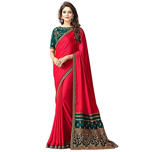 Lovender Fashion Women's Cotton Silk Heavy Party Wear Saree Mega Sale Offer...