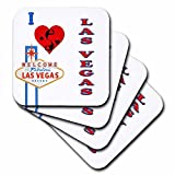 c30778bf88850 rinapiro – Quotes – I love LAS VEGAS. NEVADA. Spielkarten. Casino.  Sprichwort. – Untersetzer