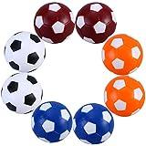 Palline calcio balilla,TOYMYTOY Palline biliardino profesisonale colorati (8pcs)