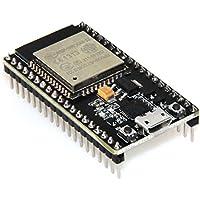HiLetgo ESP-wroom-32 eESP32 ESP-32S Junta de Desarrollo 2,4 gHz modo Dual Wifi + Bluetooth Doble Núcleos procesador de microcontrolador integrado con antena RF Amp Filtro AP STA Arduino IDE