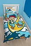 Individual Mondo Carattere Disney Jake e Squali NPT Gioco Lettino, Multicolore