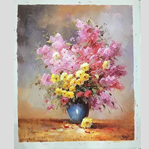100{e03a3ce8912fe8a9171a1ac3bd78a264321eff365a64f5b605c6723df6958680} handgemaltes Blumen Pflanzen Bonsai Kunst, Malerei auf Leinwand-Wand-Kunst-Wand-Verzierungsabbildungs ??ForRoom Wohnkultur Malerei: (80X90cm) 32X36inch, E