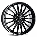KESKIN KT15 BLACK LIP POLISH 8x18 ET45 5.00x112.00 Hub Hole 66.60 mm - Alu felgen