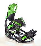 Snowboard Set: Snowboard Raven Core Rocker 2018 + Bindung Raven s220 Green (155cm Wide + s220 Green XL) - 5