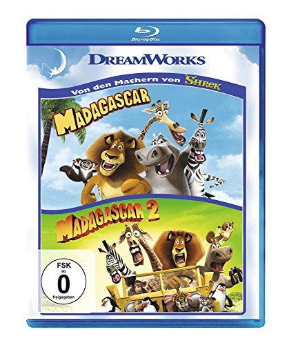 Madagascar 1+2 [Blu-ray] (Madagascar 2 Blu Ray)