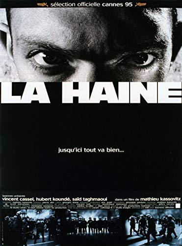 1995 Plakat (MBPOSTERS La haine 1995 Movie Poster, Plakat in Sizes)