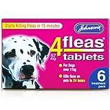 Best Dog Fleas - ToWorld(TM) JOHNSONS 4 FLEAS TABLETS for LARGE DOG Review