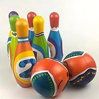 Bowling & Kegeln Spielzeug Kinder Pädagogisches Puzzle Spielzeug Heim Indoor Outdoor Sport