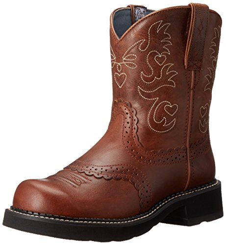 Ariat Europe Limited Ariat Wmns Fatbaby Saddle Westernstiefel Größe 39 (6 UK) (39 EU) - Leder-western-cowgirl-stiefel