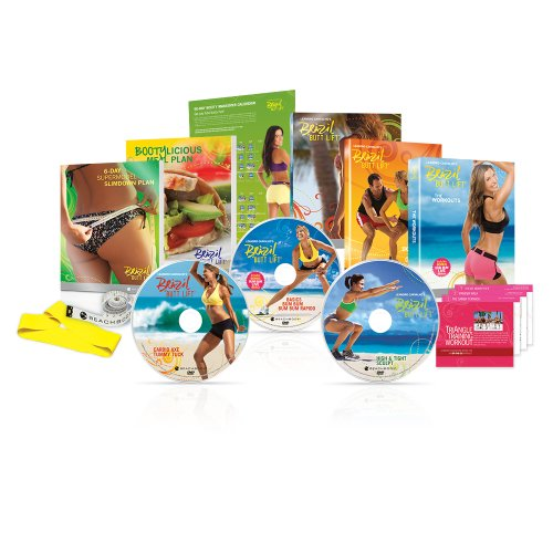 Beachbody -  Brazil Butt Lift Workout DVD's Basic set, 01795001