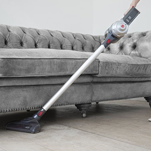 51txN6RlKuL. SS500  - Hoover Freedom 3in1 Cordless Stick Vacuum Cleaner, FD22G, Handheld, Above Floor, Lightweight, Wall Mount, Tools - Silver/Grey