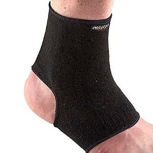 Durable Orthèse pour cheville/de gymnastique/protection de sport (Noir)