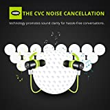 VicTsing Wireless Bluetooth 4.1 Kopfhörer Sport Stereo In-Ear Noise Cancelling Headphones Kopfhörer mit APT-X/Mic für iPhone 7, 7s, 6, 6s und Android Phones - 4