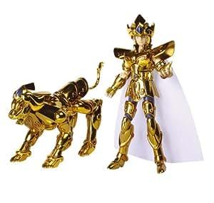 Bandai - Chevaliers du Zodiaque - 22853T2 - Figurine - Myth Cloth Lion - Chev Or