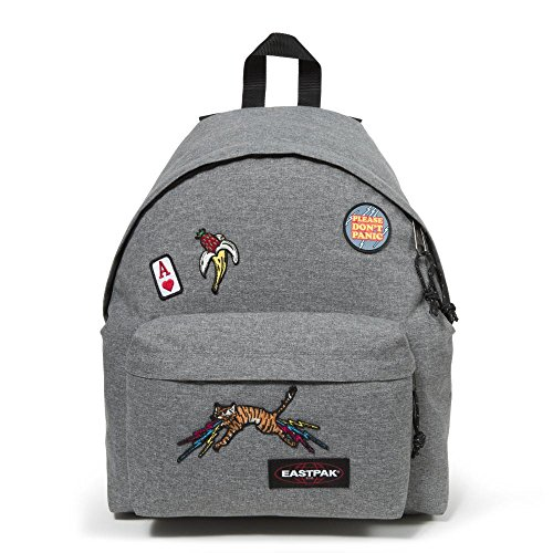 Eastpak Padded Pak'r Sac à dos - 24 L - Grey Patched (Multicolore)