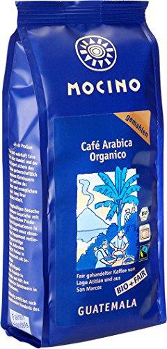 Bio Café Arabica Organico gemahlen 250g | Fairtrade Arabica Kaffee direkt aus Guatemala | kontrolliert biologischer Anbau