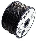 Taulman 3D-Print Filament t-glase PETT Black 3mm filament