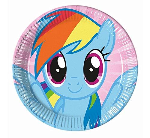 ow Dash 8 Teller (Rainbow Teller Und Servietten)