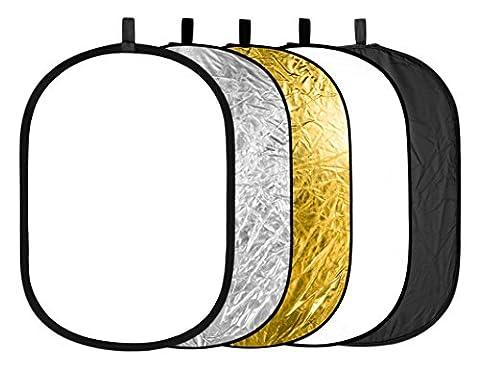 Reflecteur Pliable - Neewer 5 en 1 Pliable Réflecteur de