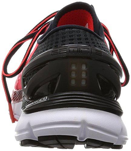 Under Armour Ua Speedform Gemini 2, Chaussures de Sport Homme Rouge / Blanc / Noir