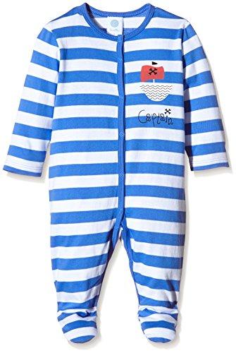 Sanetta Sanetta Baby-Mädchen Zweiteiliger Schlafanzug 222129, Blau (Amparo Blue 5987), 56