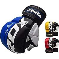 RDX MMA Guantes Maya Cuero UFC Artes Marciales Entrenamiento Mitones Muay Thai Kick Boxing Lucha Libre UFC Sparring
