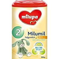 Milupa Milumil 2 Vanille-Geschmack, Folgemilch nach dem 6. Monat, 800 g