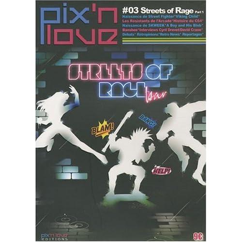 Pix'n love, N° 3 : Streets of Rage (1Cédérom)