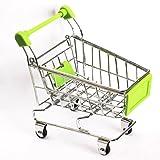 Vktech Mini Supermarkt Einkaufswagen Stiftehalter Hamster Kinder Spielzeug Grün