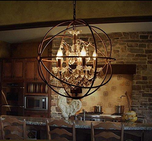 XIXIONG Lighting Lampadari D'Epoca Americana Creativo Eoliche Industriali Personalizzati Clubhouse Hotel Globo Globo Sfera
