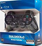 #2: PS3 Wireless Joystick Dualshock 3 BLACK Gamepad / Controller
