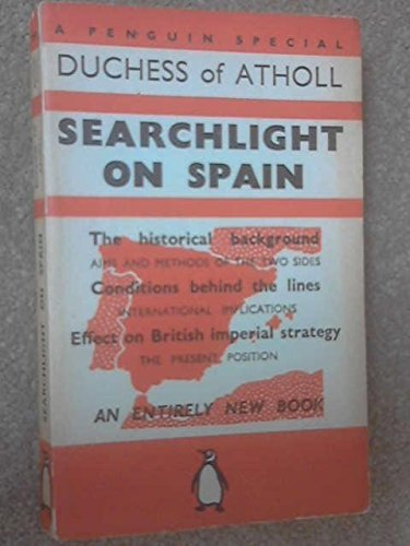 Searchlight on Spain (A Penguin Special)