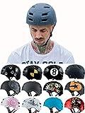 Skullcap® BMX Helm - Skaterhelm - Fahrradhelm - Herren | Damen | Jungs & Kinderhelm Gr. L (58 – 61 cm), Crack NextLevel