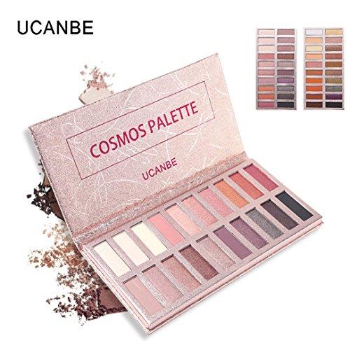 Maquillage Revolution Ultra Palette 20 Brillants Mats Nudes Flawless Shimmer Glitter Ombre à Paupières Poudre Palette Matte Cosmétique (02)