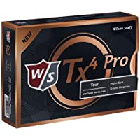 Wilson Staff TX4Pro–Juego de Pelotas de Golf (12Unidades)