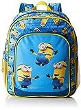 Minions, Uni Kinderrucksack blau/gelb 38 cm