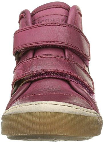 Bisgaard 40704216, Baskets Hautes Mixte Enfant 4000 Pink