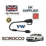 VW SCIROCCO Serie MMI Generation 3+ INTEGRIERT Audio Kabel Für Apple iPhone 5 5c 5s 6 6 Plus von cablesnthings