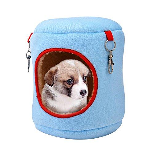 WANGLAI Hamsterkäfig, niedlich, Baumwolle, warm, weich, bequem, für Kleine Haustiere, 4 Größen