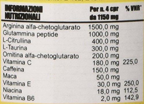 Hyper hyp0001034 NITROXY PUMP Stimolante Ossido Nitrico Arginina Ornitina Taurina Caffeina  Maca 120CPR 138gr
