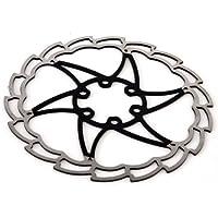 MSC Bikes MSC Ult. Steel 180 mm. 1.8 mm - Disco de freno de ciclismo, color negro