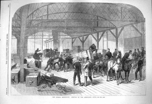 L'Exposition 1865 de Dublin Armstrong Lance des Armes de Guerre [Cuisine et Maison] par original old antique victorian print
