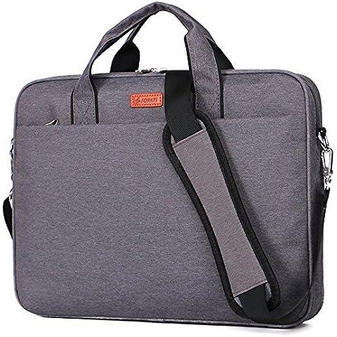 Laptop Bag para portátil de 131415awland multifuncional bolsa de ordenador portátil Maletín de nylon impermeable bolso de mano bolsa de hombro Maletín para portátil Ordenador Portátil Funda para MacBook Air de 131415pulgadas/pro Tablet