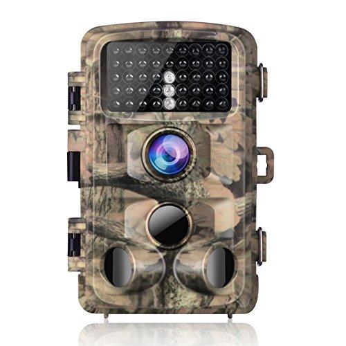 Super Clear images et vidéos Full HD Equipé de 14MP et une résolution de 1080p, l'appareil photo journal vous permet de profiter du merveilleux monde animal. Haute sensibilité avec longue distance de déclenchement 3détecteurs infrarouge passifs de...