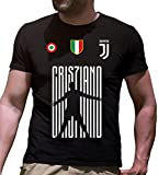 NERD GENERATIONS T-Shirt Maglietta CR7 Juventus Cristiano...